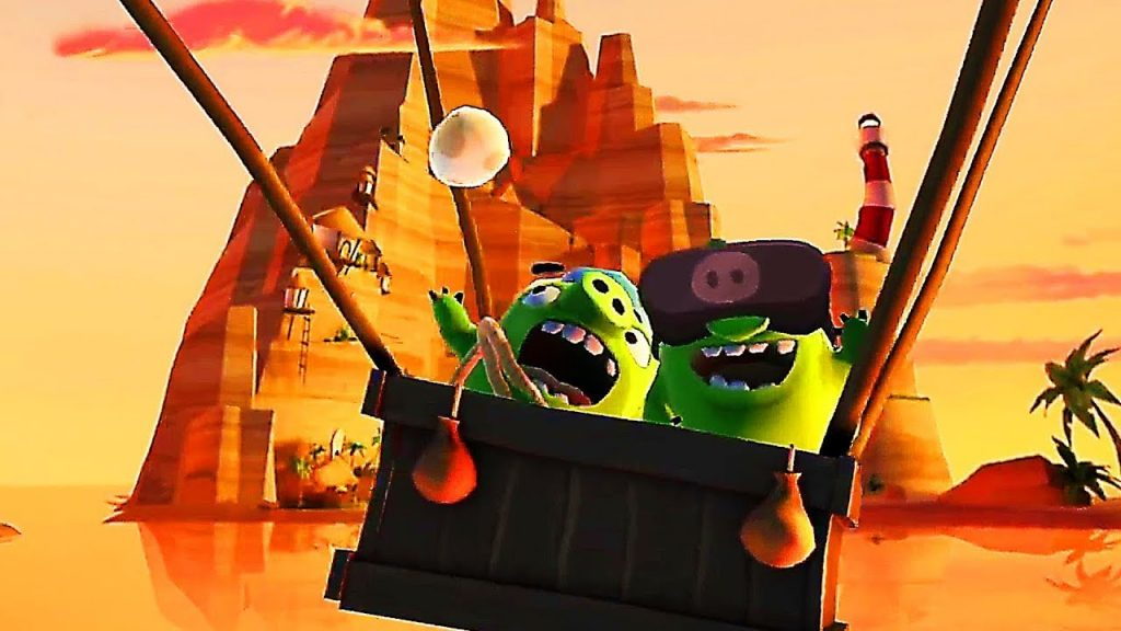 ANGRY BIRDS VR ISLE OF PIGS Gameplay Trailer (2019) PS4 PS VR