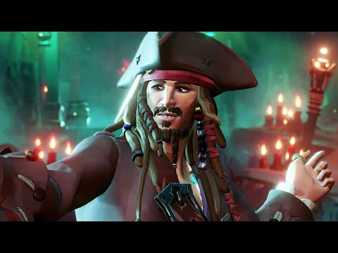 SEA OF THIEVES: A Pirate's Life Trailer (2021) Jack Sparrow